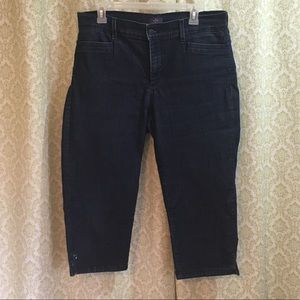 NYDJ embellished capri jeans